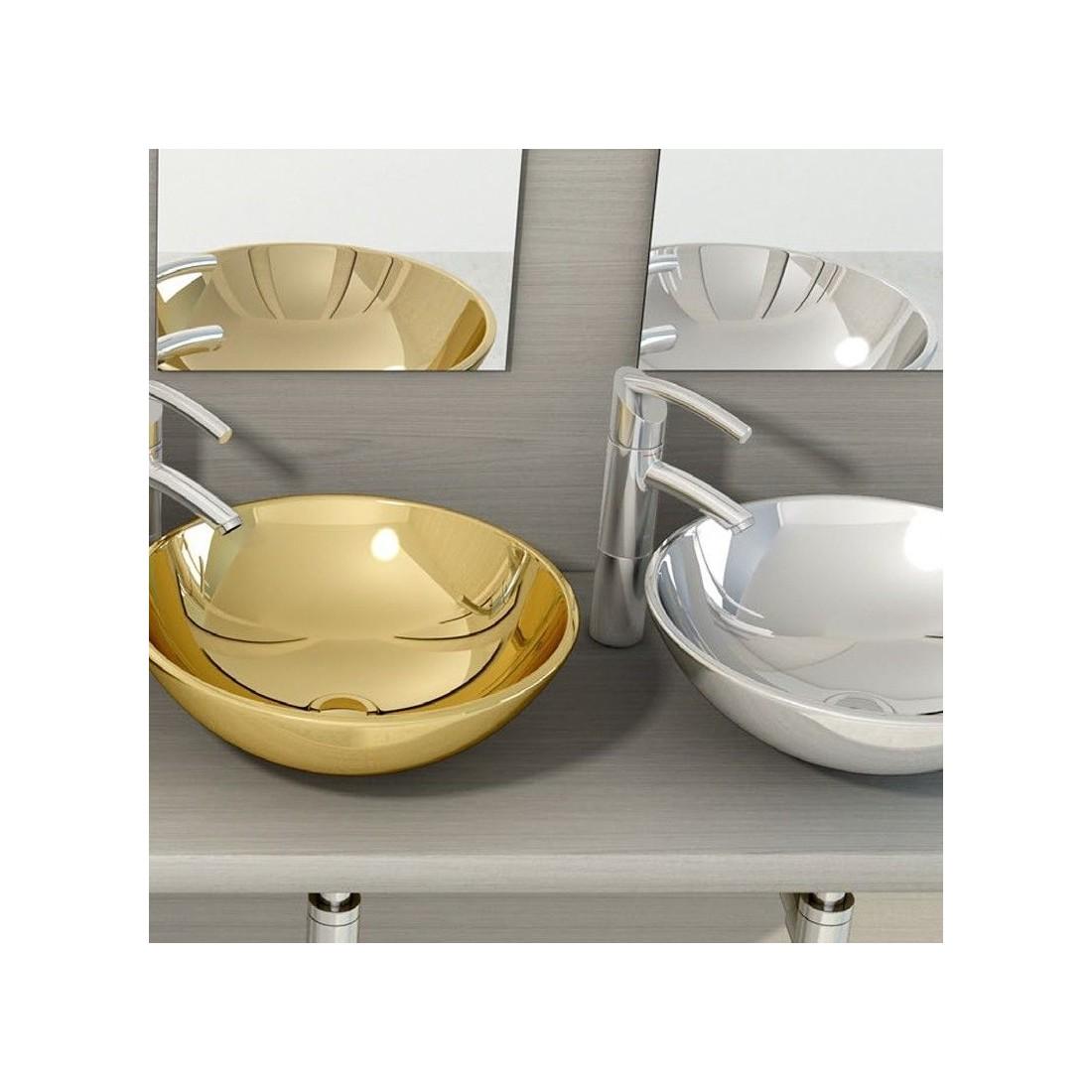Comprar lavabo ceramica sobre encimera bol al mejor precio - Precio de lavabos ...
