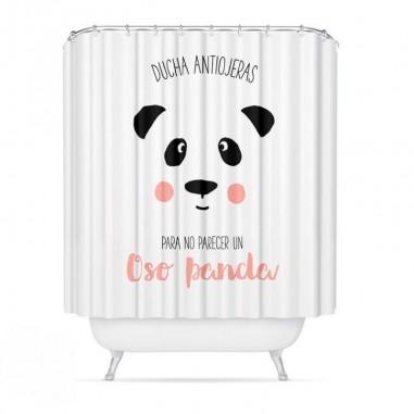 Cortina de Baño Oso Panda