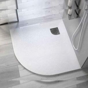 Base de chuveiro de resina Angular