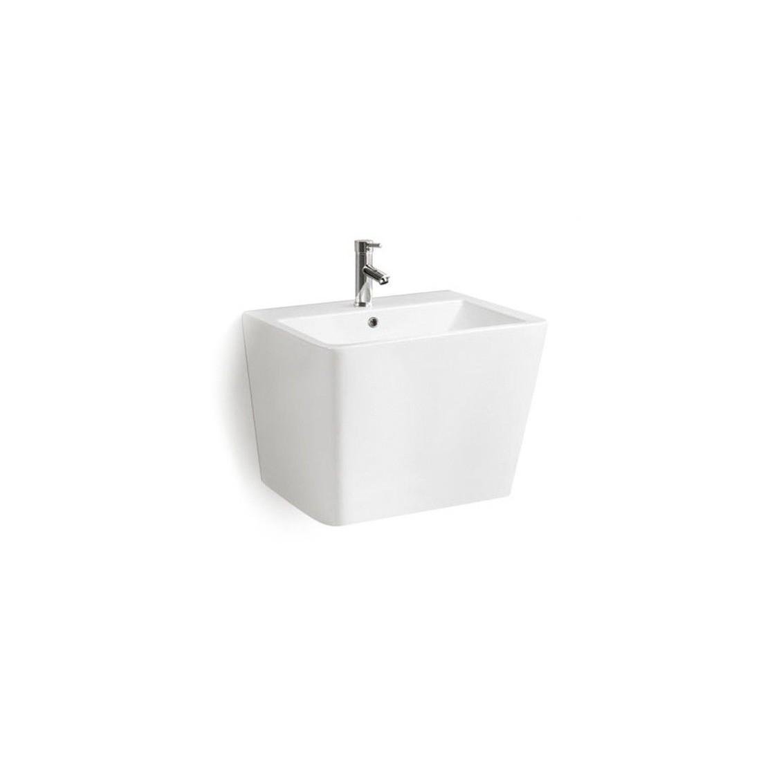 Lavabos suspendidos pequeos baldas y lavabos suspendidos - Altura de lavabo suspendido ...
