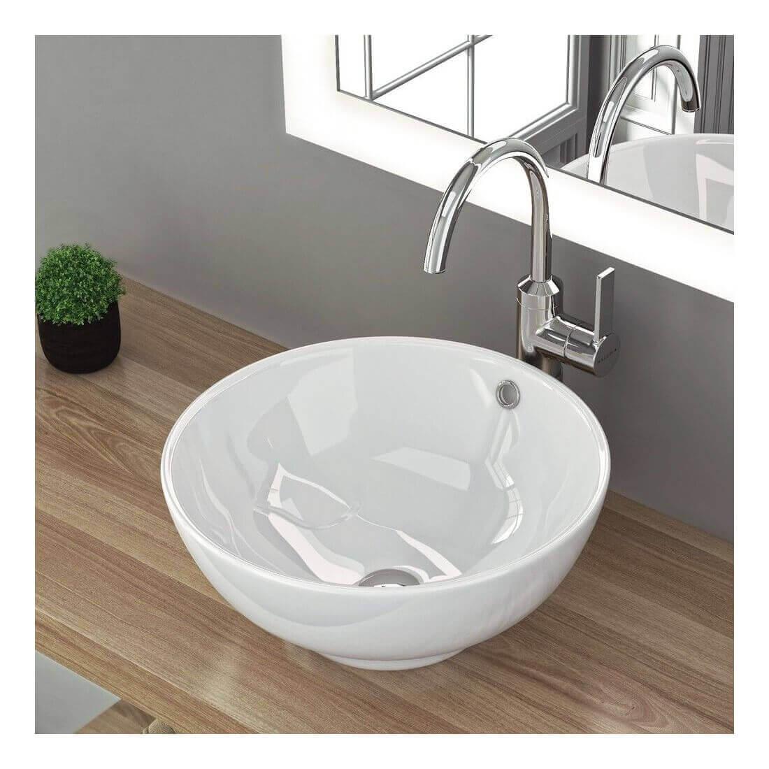 Lavabo sobre encimera aika the bath for Lavabo sobre