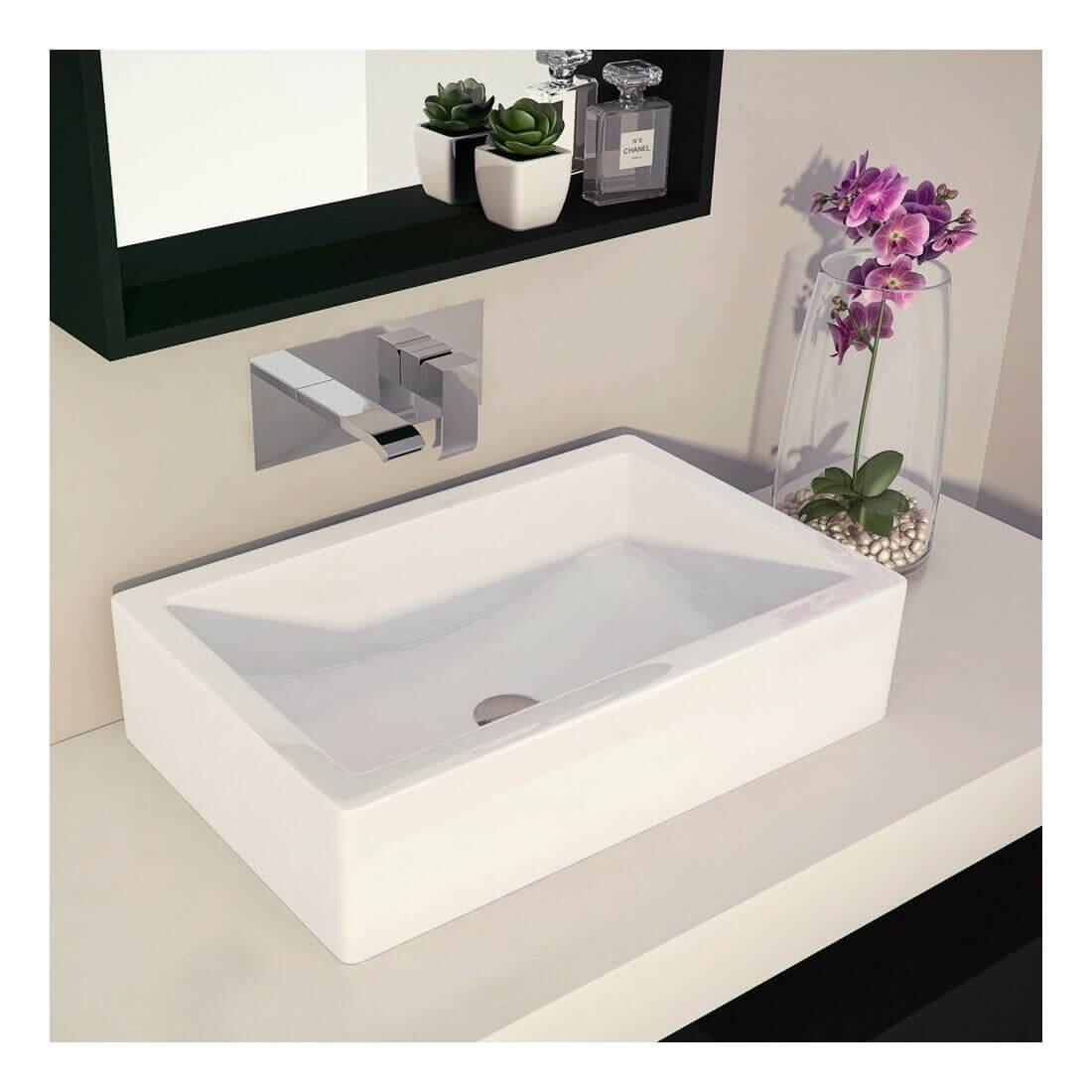 Lavabo sobre encimera aira the bath - Grifos para lavabos sobre encimera ...