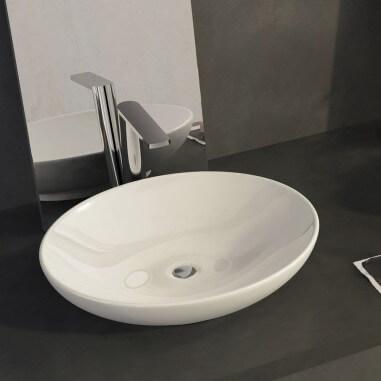 Lavabo Sobre encimera Ovalo