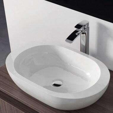 comprar lavabos sobre encimera ovalados baratos the bath