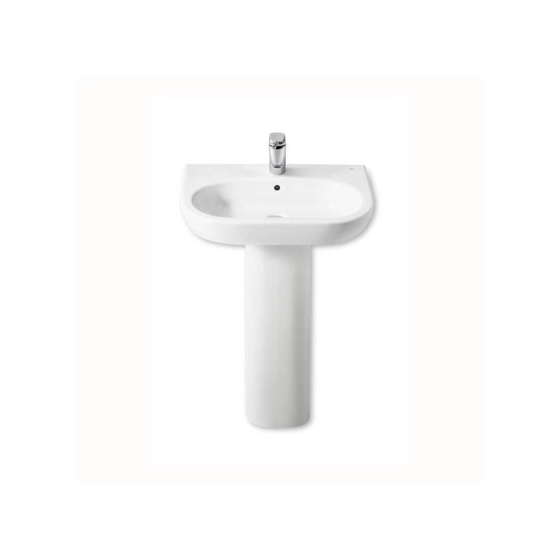 Comprar lavabo roca meridian con pedestal al mejor precio for Precios de lavabos roca
