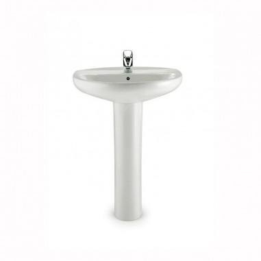 Comprar lavabo roca victoria con pedestal al mejor precio for Precios de lavabos roca