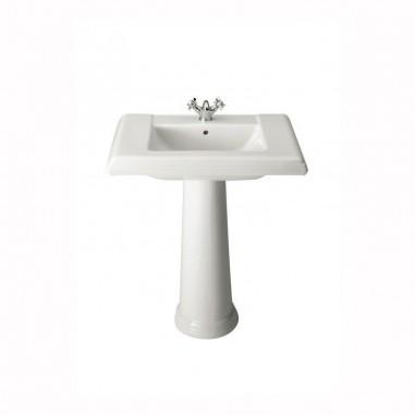 Comprar lavabo roca am rica con pedestal al mejor precio for Lavabo con pedestal