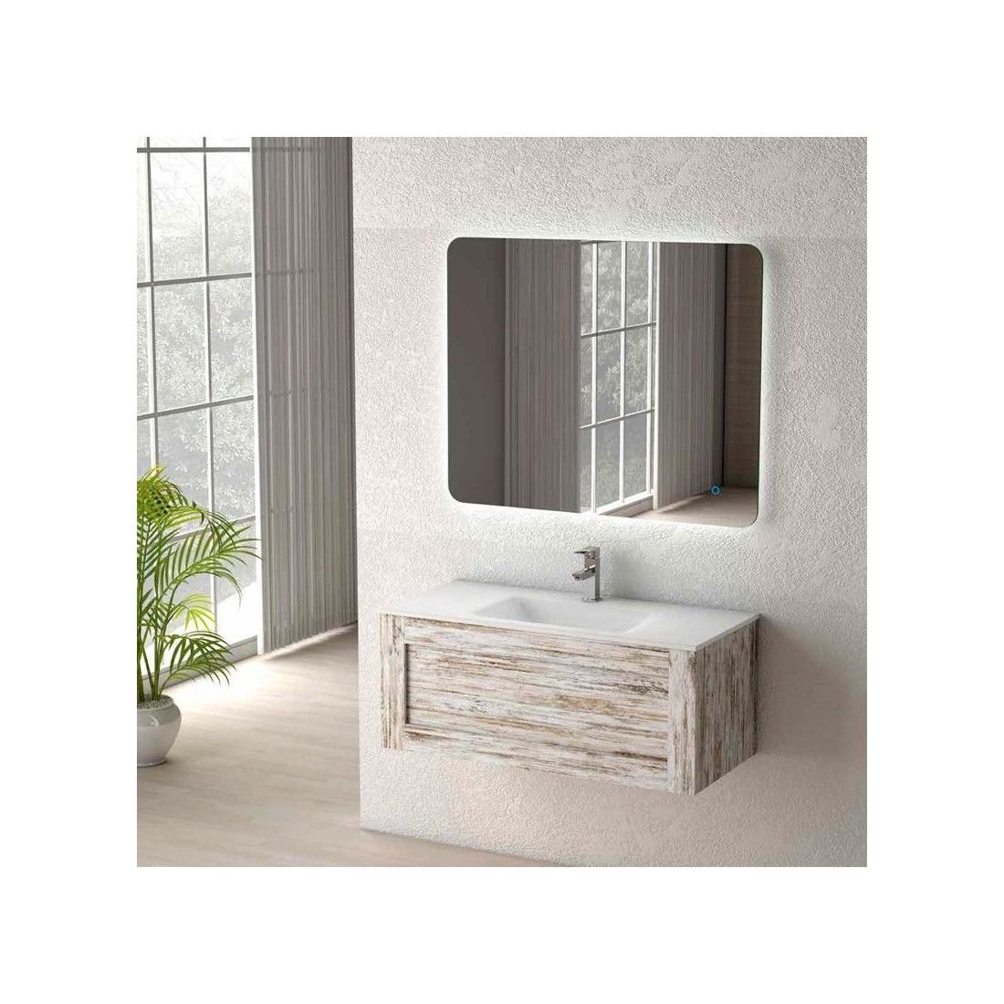 Mueble de ba o denim the bath - Mueble bano vintage ...