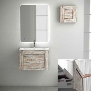 Armário de banheiro de Denim