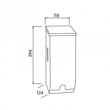 Dispensador de papel higienico Universal