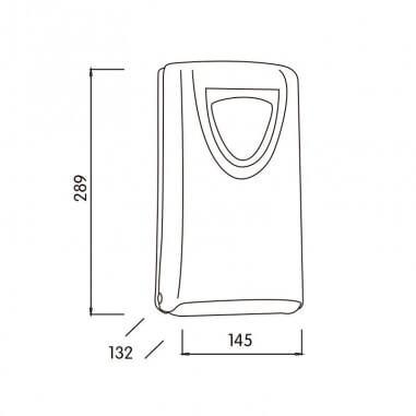 Dispensador de papel higienico Domestic