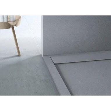 Plato de ducha resina textura pizarra Natural