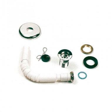 Sifón flexible lavabo PMR ergonómico
