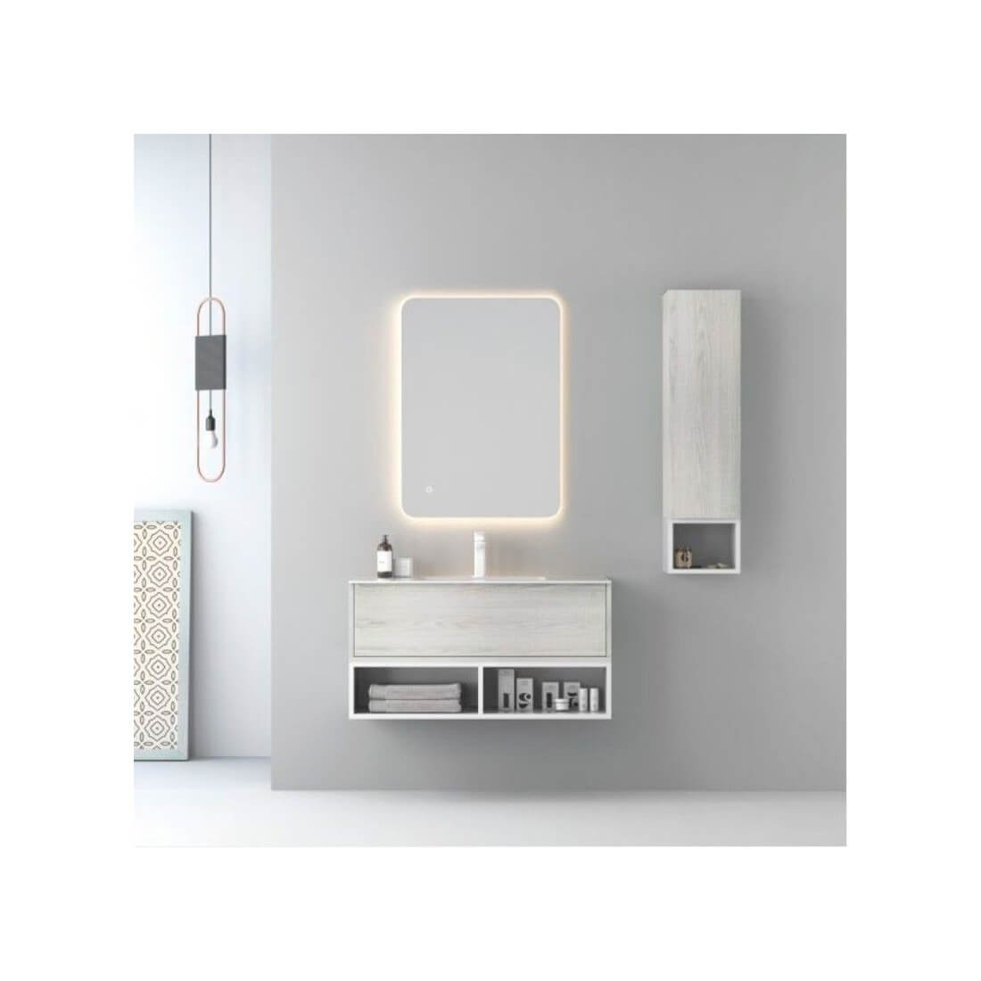 Mueble para ba o mix the bath - Muebles de bano suspendidos ...