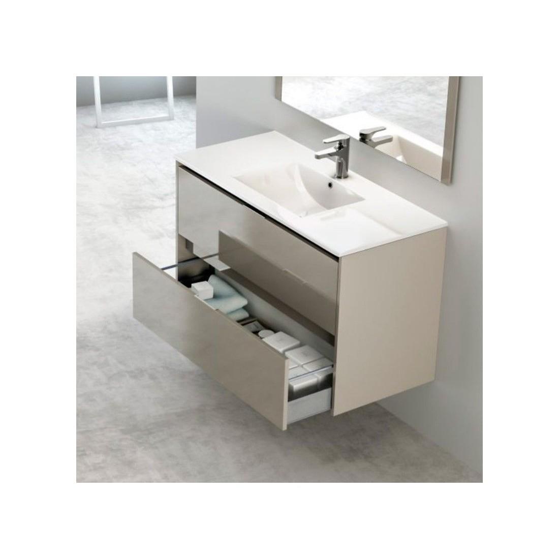 Mueble ba o evo the bath for Mueble alto para bano