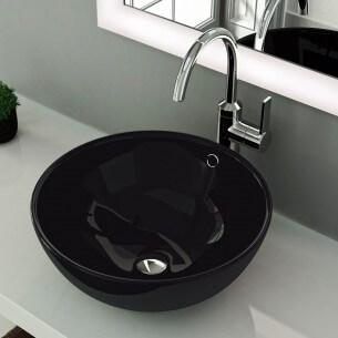 Lavabo sobre encimera Aika negro