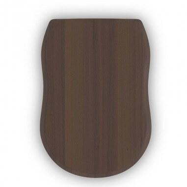 Tapa madera Atenas acabado nogal oscuro (incl. herrajes)