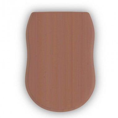 Tapa madera Atenas acabado caoba (incl. herrajes)