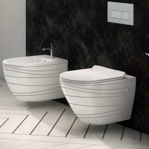 Wc suspenso Verona Rimless Wave Fossil Natura
