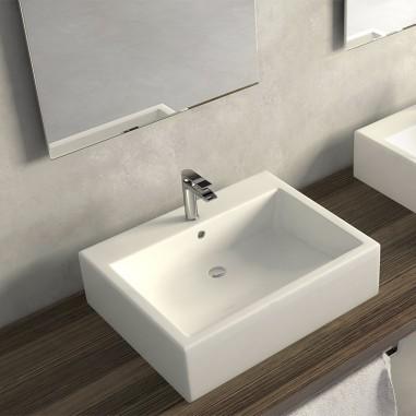 Lavabos sobre encimera rectangulares baratos the bath - Lavabos rectangulares sobre encimera ...