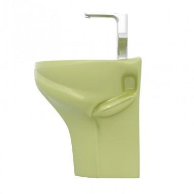 Lavabo para niños suspendido Frogy verde