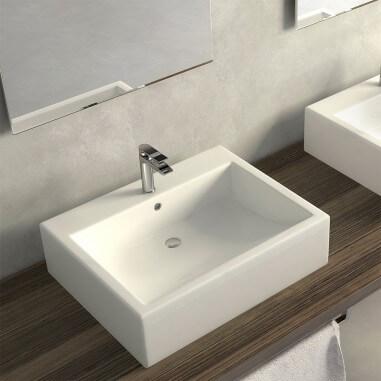 Lavabo baño sobre encimera Duna