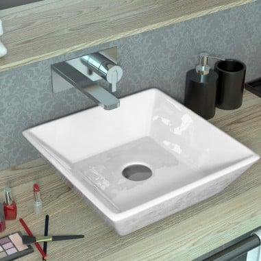 Lavabo para baño sobre encimera Flat Outlet
