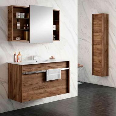 Armário de banheiro e lavabo Milha