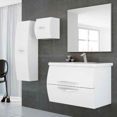 Casa de banho do armário Modular