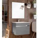 Mueble baño lacado Lineal