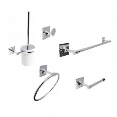 Conjunto accesorios baño Plain