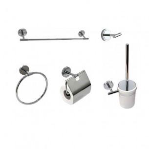 Kit accesorios de baño Round