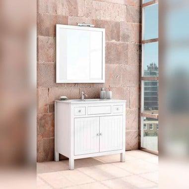 Muebles rústicos para baño