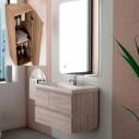 Casa de banho do armário suspenso Cairo