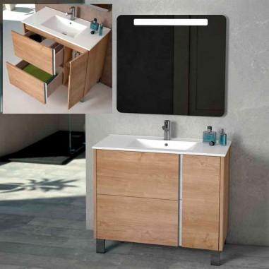 Mueble de baño con patas Mar