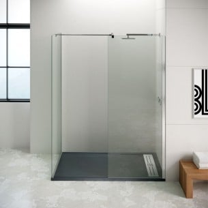 Panel fijo para ducha Duo