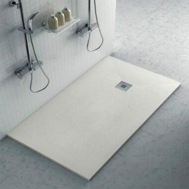 Plato de ducha de Resina con Textura Pizarra