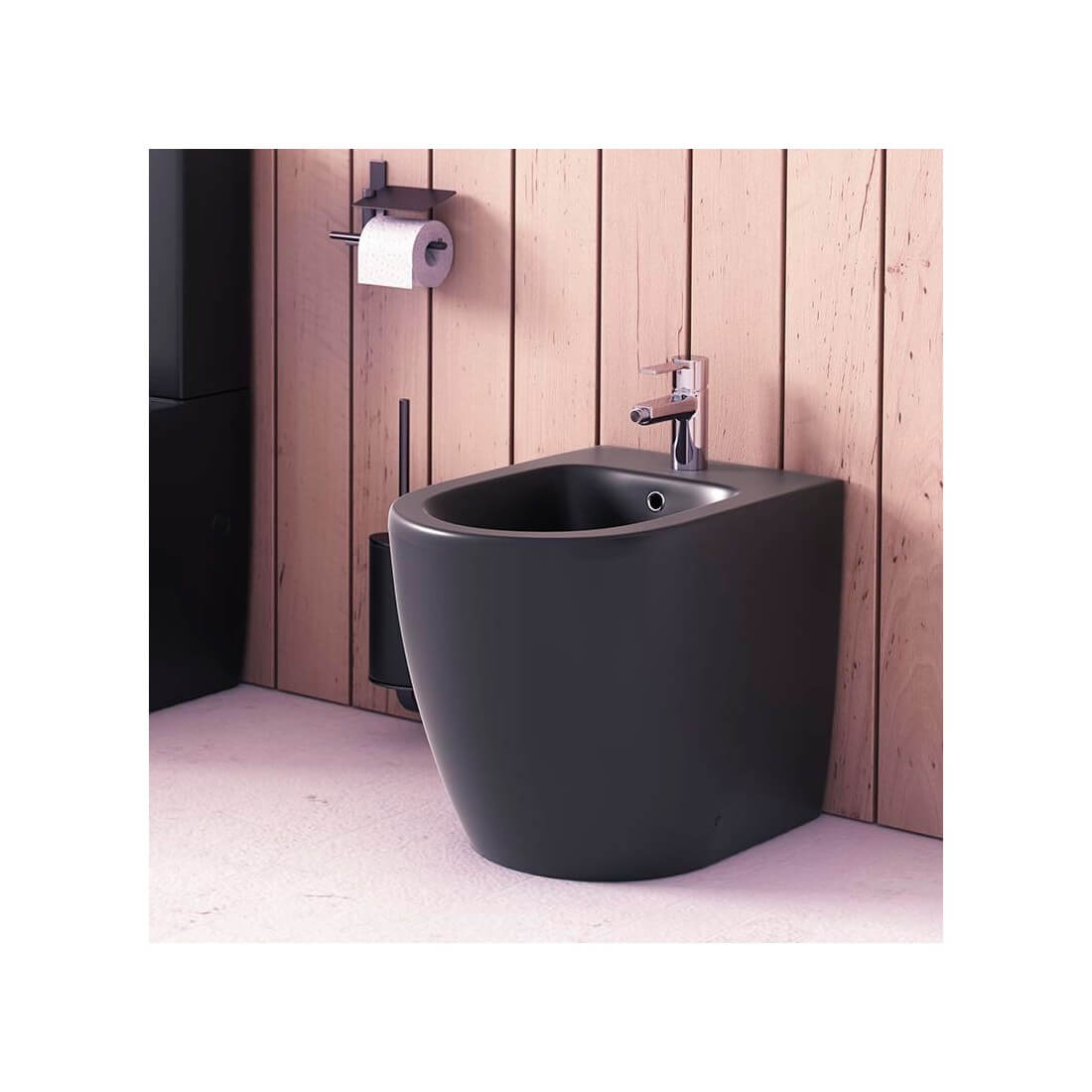 ▷ Comprar bidet para baño Verona en acabados mate. Gris, negro, blanco