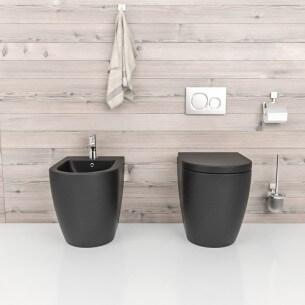 Wc compacto e sem cisternas, modelo Verona Black