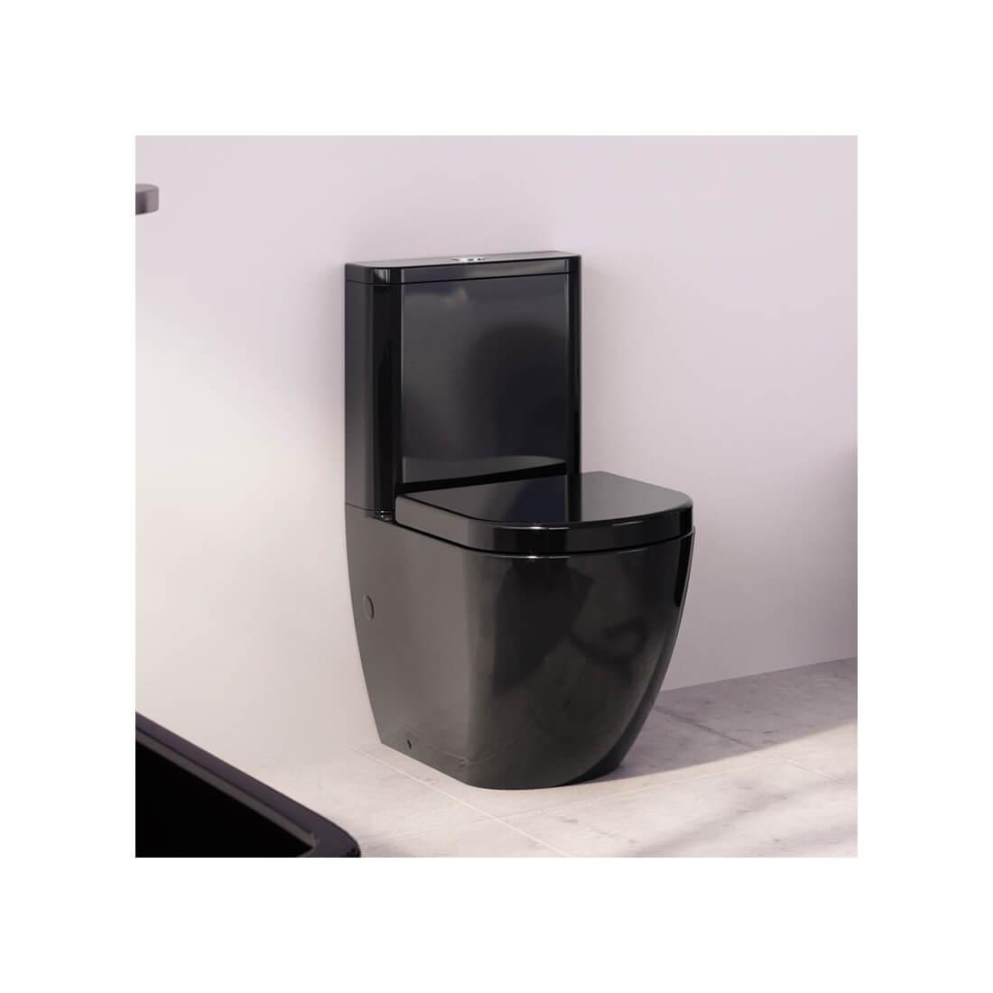 ▷ Comprar inodoro negro Verona Black de Fossil Natura. El mejor precio