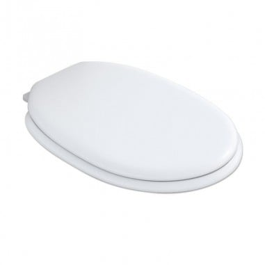 Assento para vaso sanitário tampa Abafados branca Porto