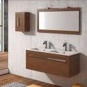 Casa de banho do armário suspenso Kuma
