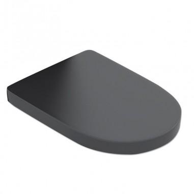 Tapa de water modelo Verona Black amortiguada