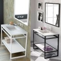 Mueble con toallero