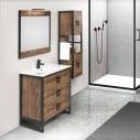 Mueble de baño tres cajones Gorbea