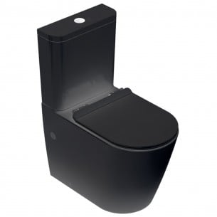 Inodoro alto Turin Black