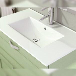 Lavabo cerámico sobre mueble NORMAL