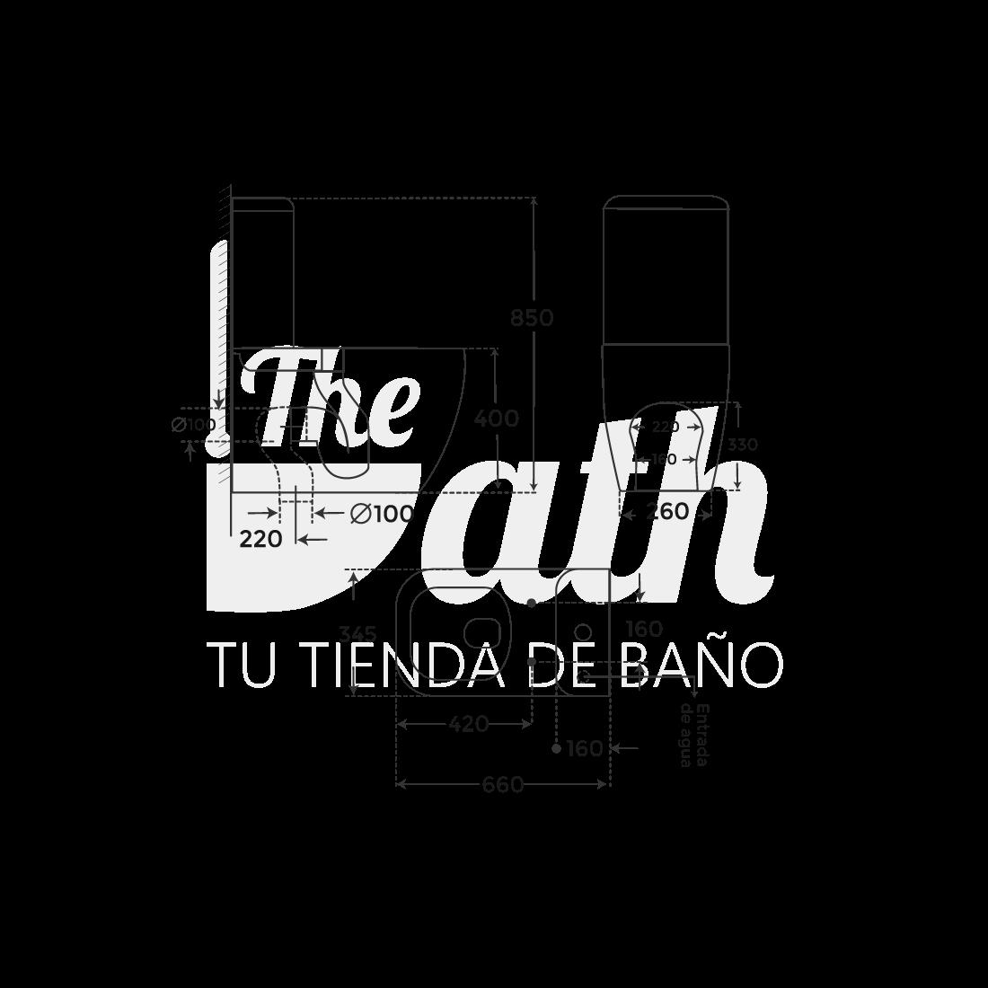 ▷ Inodoro de diseño Duomo -【Fossil Natura】- TheBath