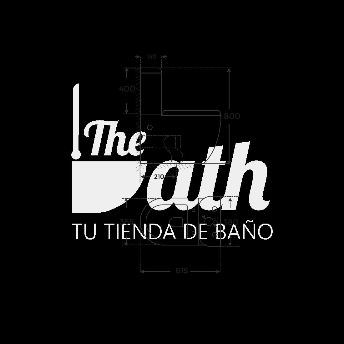 ▷ Inodoro Gris mate Verona -【Marca Fossil Natura】- TheBath
