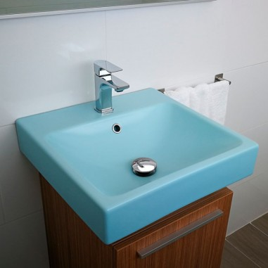 Lavabo mate sobre encimera Smart con base